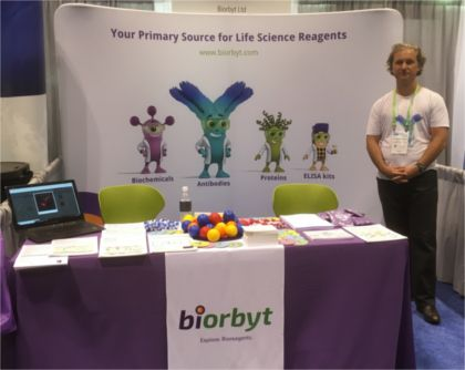 biorbyt booth at aacr