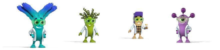 Biorbyt mascots